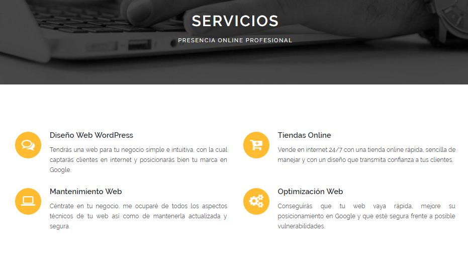 Estos son los servicios que David Ofrece ahora