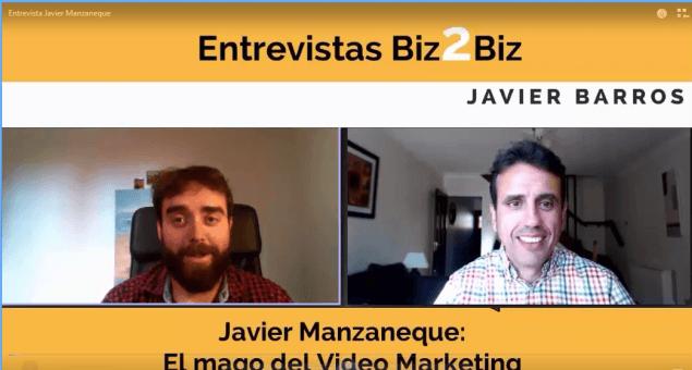 Cómo vender más en internet gracias al video: Entrevista a Javier Manzaneque
